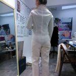spodnie dopasowane